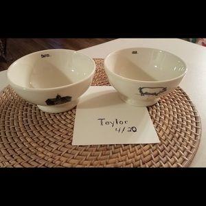 Rae Dunn farmline bowls
